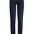 High-rise straight skinny-leg jeans