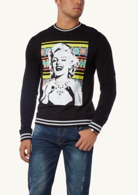 Marilyn aztec knit pullover