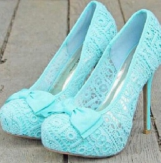 shoes tiffany blue heels fashionista blue