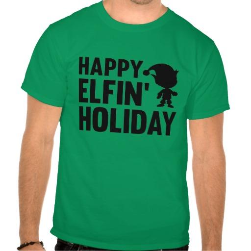 Happy elfin' holiday