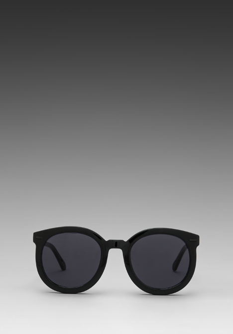 KAREN WALKER Super Duper Strength in Black - Karen Walker