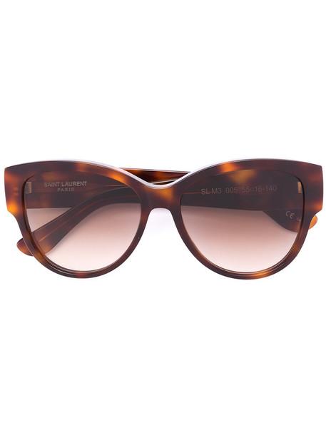 Saint Laurent Eyewear women sunglasses brown