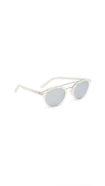 Barton Perreira sunglasses pearl silver
