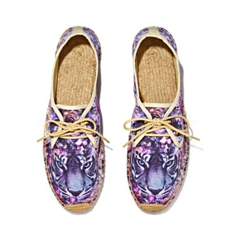shoes tiger flats sneakers purple back to school