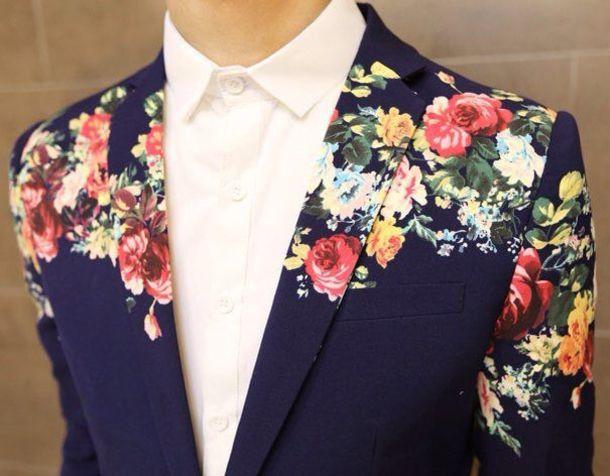 jacket  floral  tuxedo  tux  formal  love  prom  blazer  wherecanifindthisjacket  mens jacket