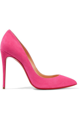 suede pumps 100 pumps suede pink shoes
