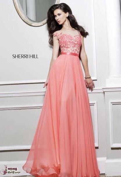 dress pink prom dress pink dress sherri hill