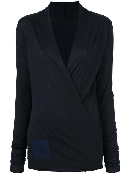 humanoid sweater women cotton blue silk