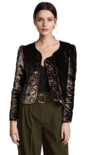 jacket gold