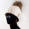 Fur pom beanie – created by fortune