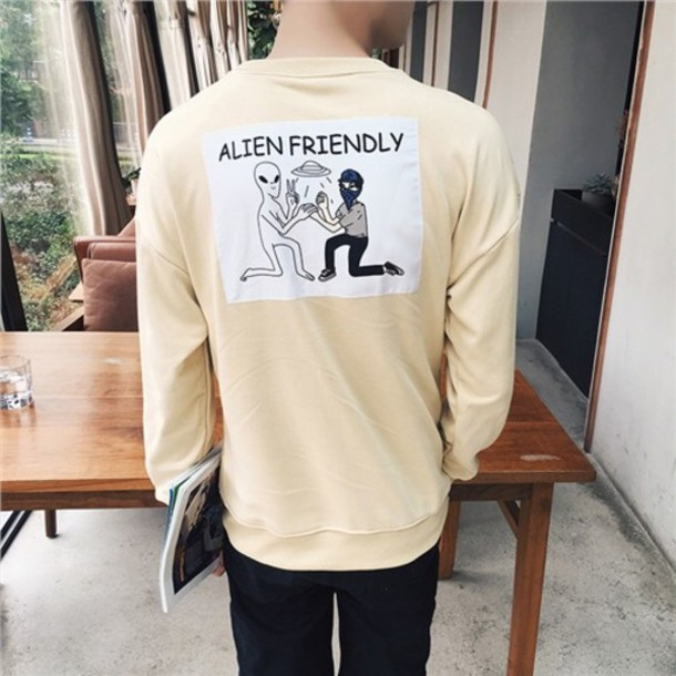 Sweater Korean Fashion Grunge Menswear Kpop Asian K Pop