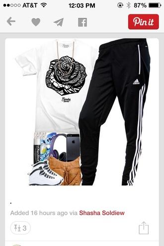 fashion rose style blouse shirt t-shirt flowers black
