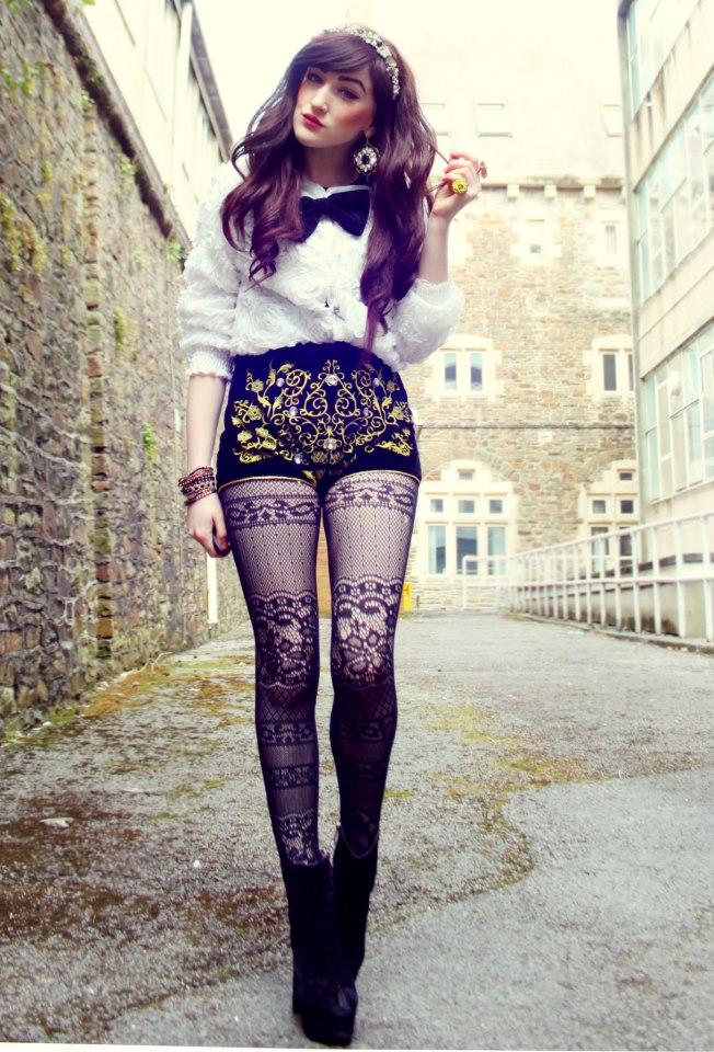 Black And White Stripe Pub Bubble Skirt   ecugo