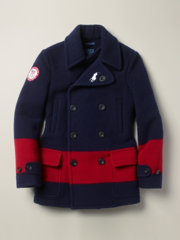Team USA Ceremony Pea Coat | Ralph Lauren