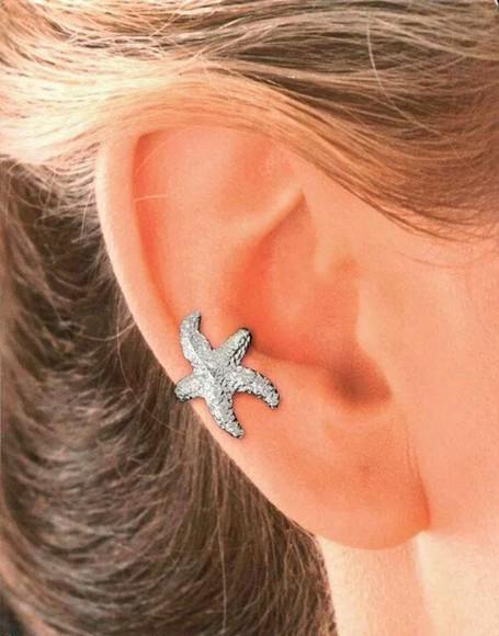 jewels style stars fashion silver cute starfish girly