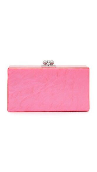 hot clutch pink hot pink bag