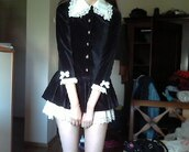 dress,lolita,velvet,victorian,doll