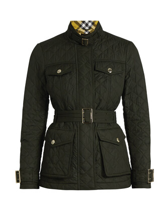 jacket quilted green