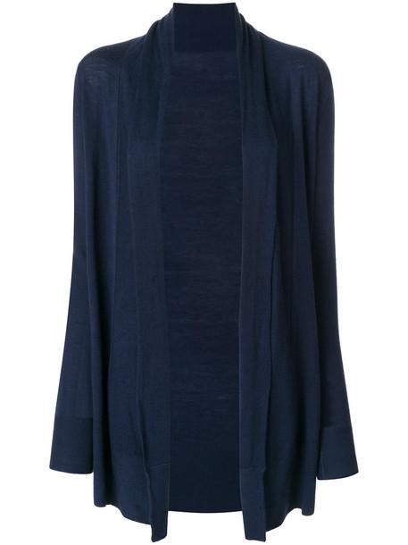 Sottomettimi cardigan cardigan open women blue sweater