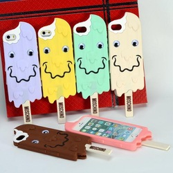 Online Shop New hot chocolate popsicles phone shell silicone phone case for iphone5 5S|Aliexpress Mobile