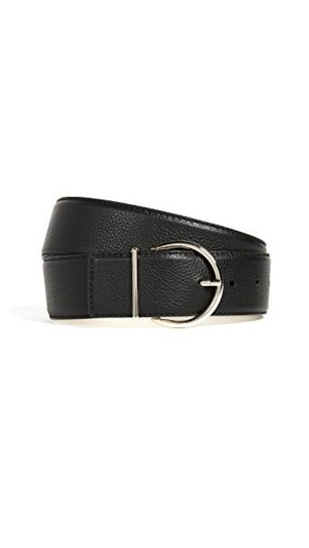 mini belt gold black