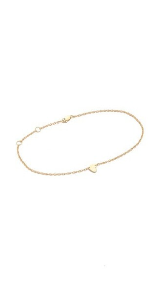heart anklet gold jewels