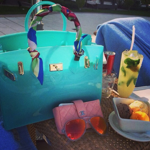 sun beach bag beachbag hermes birkin birkin bag rubber jelly bag