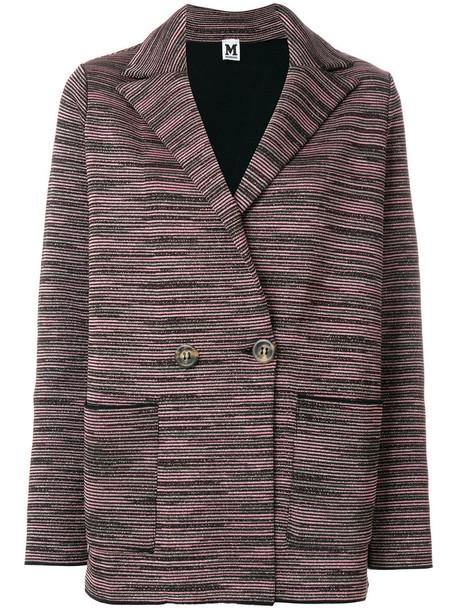 jacket double breasted metallic women wool