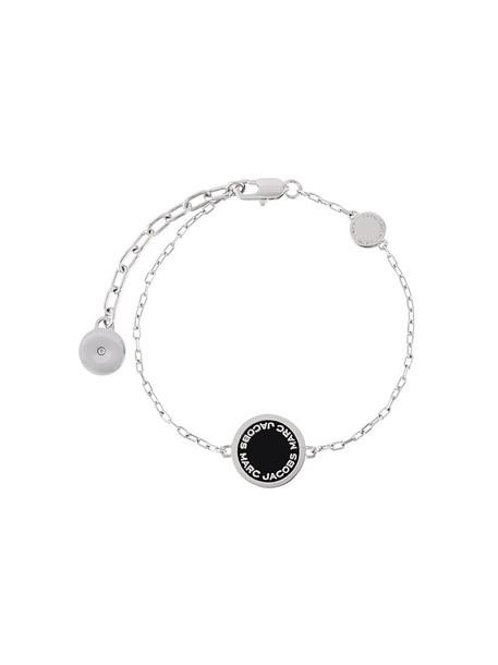 Marc Jacobs women grey metallic jewels