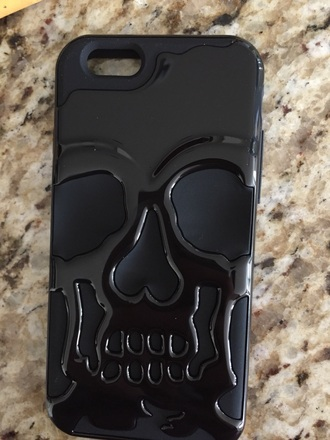 phone cover iphone cover iphone case iphone 6 case skull skulls black phone wallet black phone black phone casesc