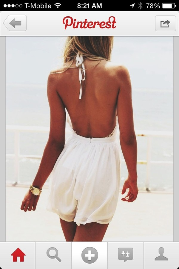 dress white romper