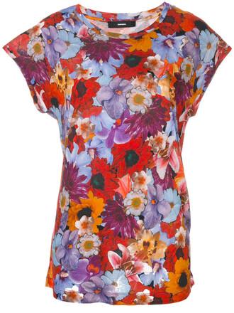 t-shirt shirt women floral print top