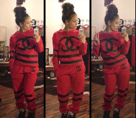 Chanel sweatsuit
