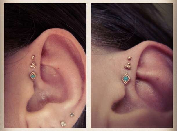 jewels helix piercing triple forward helix triple helix
