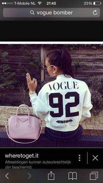 jacket vogue bomber jacket vogue bomber