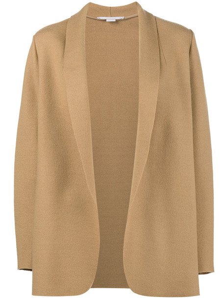 Stella McCartney jacket women nude cotton wool