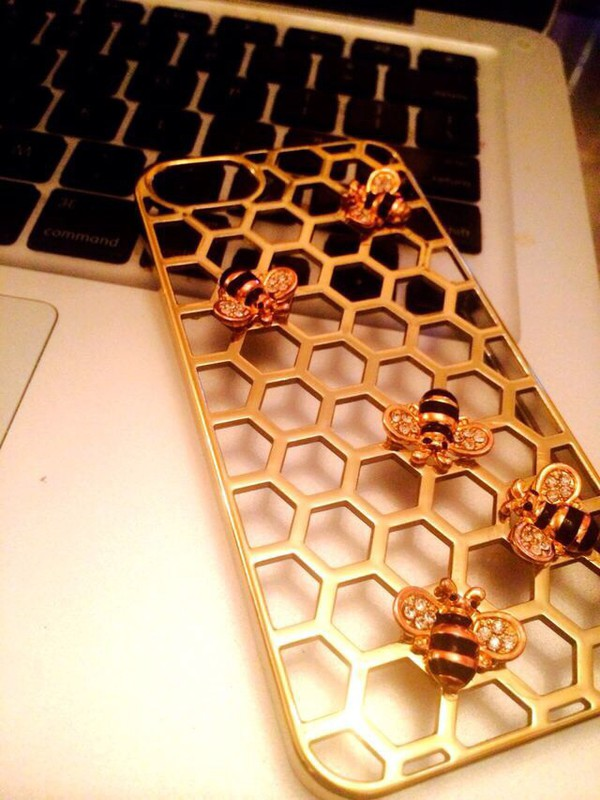 phone cover hive bee iphone 5 case