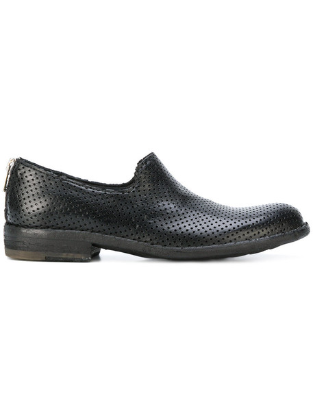 OFFICINE CREATIVE women loafers leather black shoes