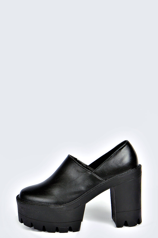 Kyrah Cleated Platform Heels
