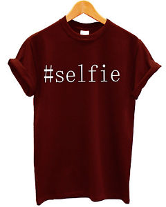 HASHTAG SELFIE VAIN INSTAGRAM PICTURE T SHIRT HIPSTER TUMBLR TOP MEN WOMEN GIRLS | eBay