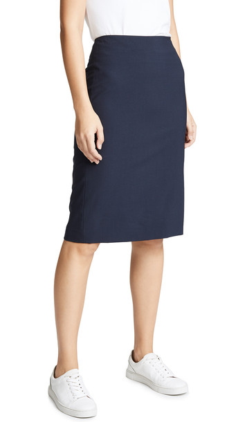 Theory Edition Pencil Skirt in navy