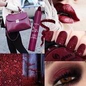 bag,burgundy bag