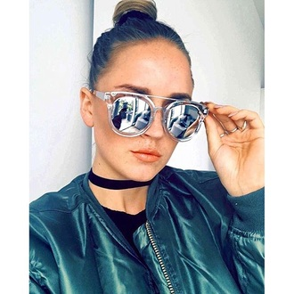sunglasses clear sunglasses summer tumblr mirrored sunglasses blogger top girly hipster trendy summer holidays