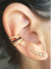 jewels,earrings,accessories,boho jewelry,ear crawler earrings,ear cuff,jewelry,gold,bling,Accessory