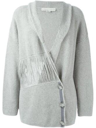 cardigan women wool grey sweater