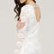 Boho lace bell sleeve dress