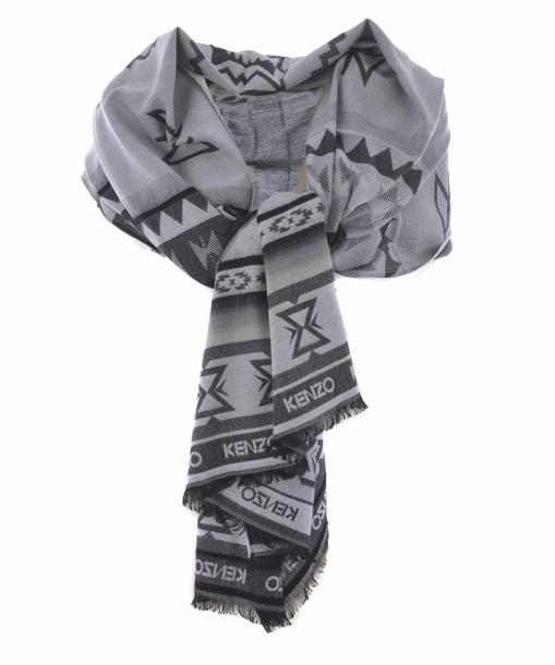 Kenzo scarf print aztec