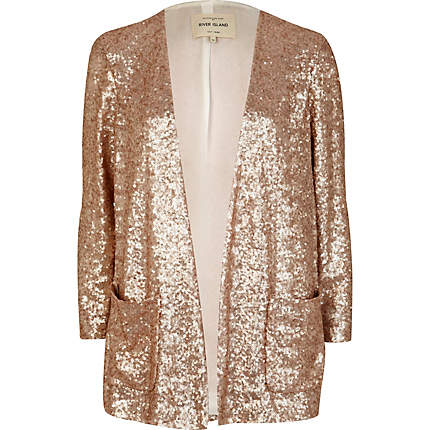 sequin boxy blazer - blazers - coats / jackets - women