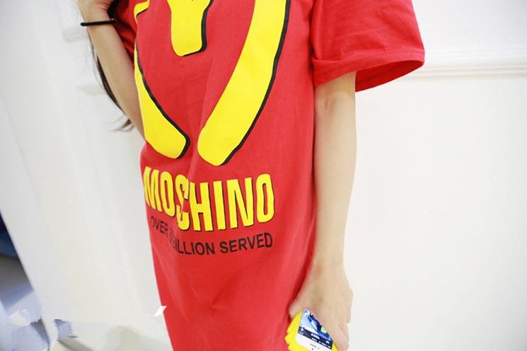 Fried long shirt aka moschino long shirt / big momma thang