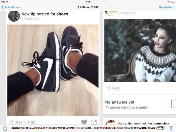 shoes black blue shoes schuhe